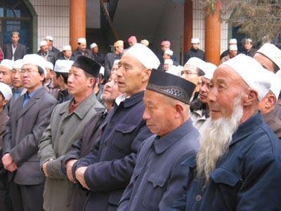بعض مسلمي الصين