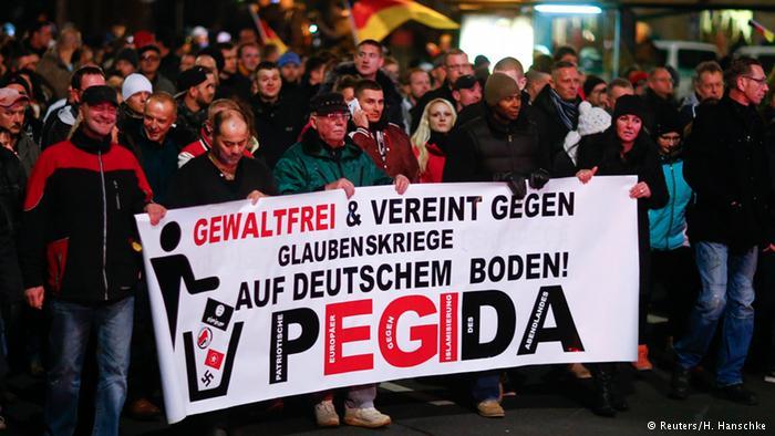 مظاهرة لبيغيدا