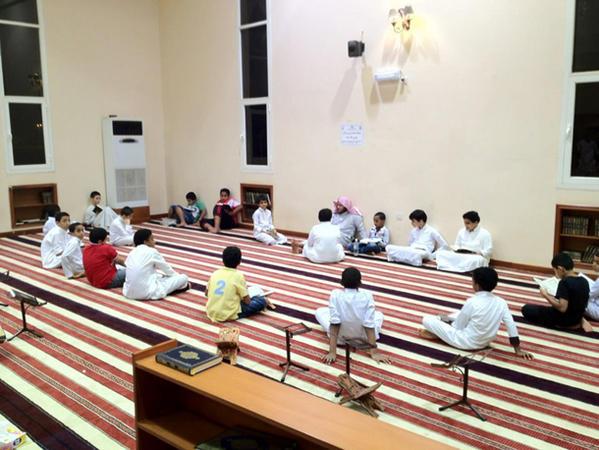 حلقة قرآنية