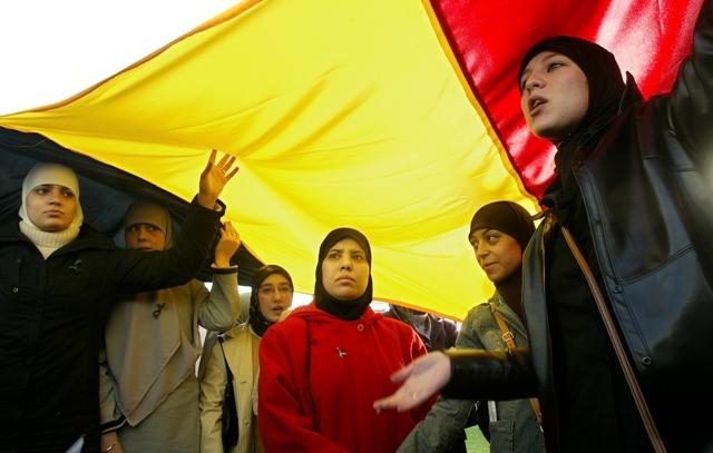 مسلمات في بلجيكا