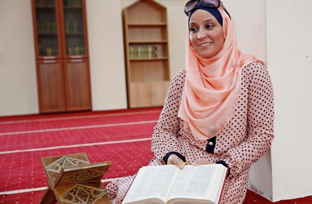أولفا بعد إسلامها